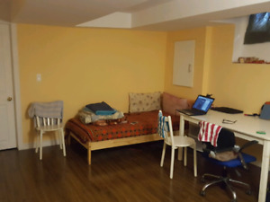 Basement Rental- Shared room Available