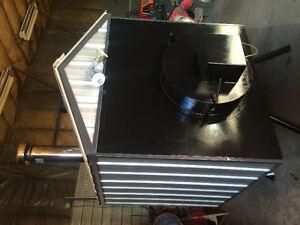 Brand new custom built outdoor wood stove