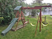 FREE SWING SET - Kid's have outgrown