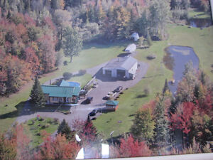 Mechanic's Paradise = 4bdrm Home + Large Garage + 4.5 Acres