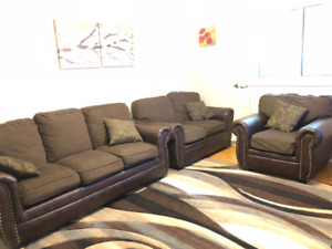 3pc Used Couch Set for Sale