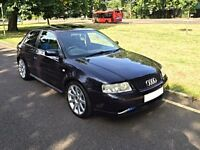 Audi S3 1.8T QUATTRO BAM Forged - 270BHP - 76k - FSH - HPI Clear - Great Spec - BAM 225 8L Facelift