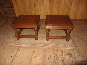 Two End Table Sets