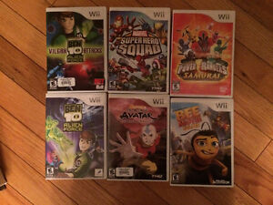 4 Wii Games Left - $10 each !