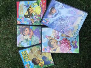Dora and Diego DVD's