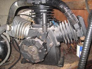 9 H/P  CAST IRON AIR COMPRESSER PUMP