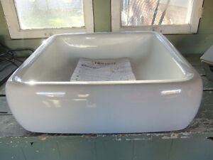 brand new foremost white vessel sink