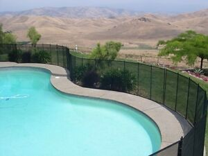 Protectachild removable mesh pool fence