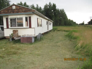 COUNTY RESIDENTIAL  LOT with MOBILE HOME