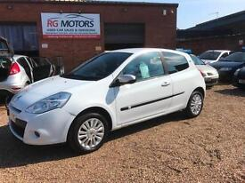 2010(10) Renault Clio 1.2 16v I - Music White 3dr Hatch, **ANY PX WELCOME**