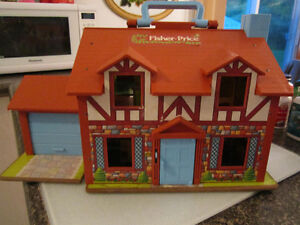 COLLECTION --MAISON--FISHER-PRICE--1969---