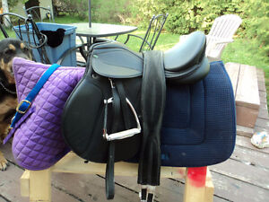 SUPRA ALL PURPOSE SADDLE, BRIDLE, AND ACCESSORIES
