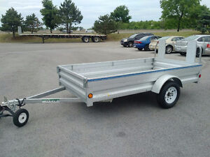 """Utility Trailer 5' x 10' with fold down front gate opens 11'3"""""""