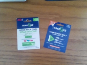 New Tracfone Sim Kit and Minutes