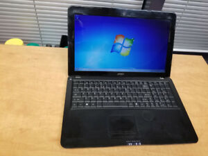 "Laptop 15"" – Dell – Core 2 Duo – 4gb – Windows 7 - Reliable"