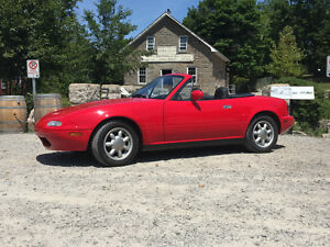 "1990"" Car of the Year Mazda"" Miata MX-5"