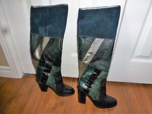 Leather/suede Boots