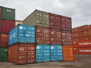 Sale or rent of used Sea Containers 20'-40'