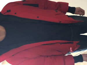Canada goose red large