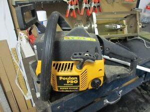 CHAINSAW POULAN PRO  PP4620AVHD (for parts or repair)