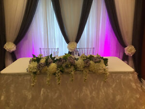 Backdrop for parties and weddings