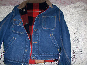 Denim jackets,Med-Ralph Lauren, reversible, Smart Set (Lge)