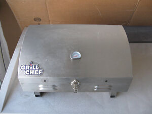 GRILL CHEF PORTABLE GAS STAINLESS STEEL BBQ