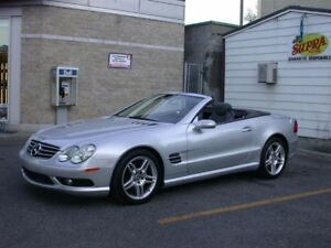 Mercedes-Benz SL500  2006 financement maison disponible