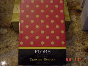 NEW Sealed Box CAROLINA HERRERA Flore 50 ml Eau de Parfum