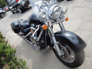Parting out 2001 Suzuki Intruder 1500 being sold in parts only