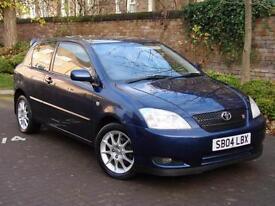 EXCELENT CAR!! 2004 TOYOTA COROLLA 1.8 VVTL-i T SPORT 190 3DR, LONG MOT WARRANTY