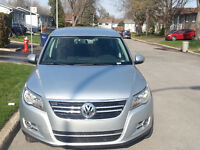Tiguan 2010 low KM + 2 years warranty include