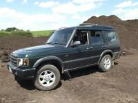 LAND ROVER DISCOVERY TD5 GS 7 SEATER 2002 FACELIFT MODEL,NEW MOT,3 OWNERS, HIST