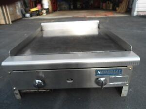 imperial commercial gas flat top grill