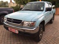 Toyota Hi-Lux 2.5D-4D 2004MY 280 EX + DOUBLE CAB + 4X4 + IDEAL EXPORT