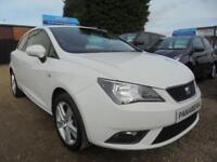 2013 63 SEAT IBIZA 1.4 TOCA 3DR 85 BHP ONLY 49K MILES WITH FULL HISTORY AA REPOR
