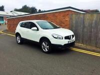 2012 Nissan Qashqai 1.5 dCi Acenta 2WD 5dr White 68k LHD