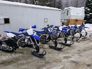 Snowbikes for rent  Timbersled. Long or short