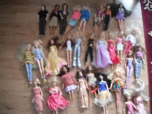 Barbies and Kens,Twenty-Seven Assorted Dolls - Buy All and Save