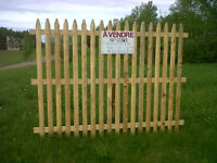 New Cedar Fence Pickets and sections