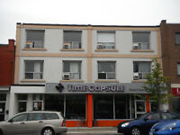 2 min to subway 2-level spacious w/ laundry, immed. occupancy