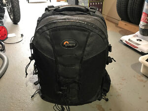 Low pro camera backpack