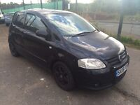 2006 Volkswagen urban fox 1.2 .. Damaged . Spares or repairs modified
