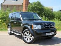 2010 LAND ROVER DISCOVERY 3.0 4 TDV6 GS 5D AUTO 245 BHP DIESEL