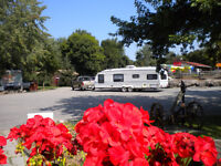 Cleaner at campground