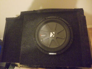 "10"" Comp RT sub in box for Chevy truck"