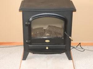Fireplace ( wood stove)