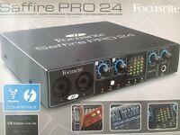 New Focusrite Saffire Pro 24