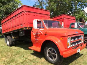 Wanted 67 to 72 Gm Chev C50 Grain/farm truck