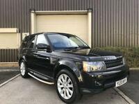 (59) 2009 Range Rover Sport 3.0TD V6 auto HSE 5dr CommandShift Leather Black